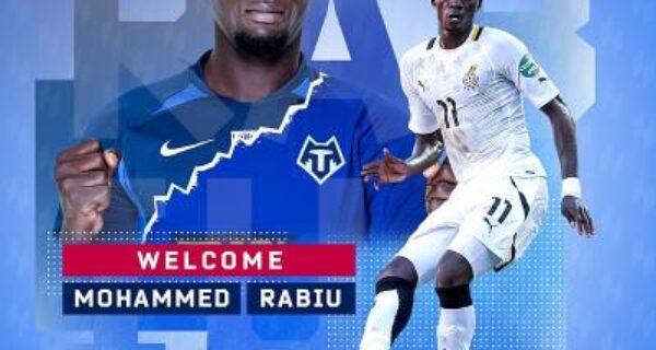 Rabiu Mohammed joins Tambov FC