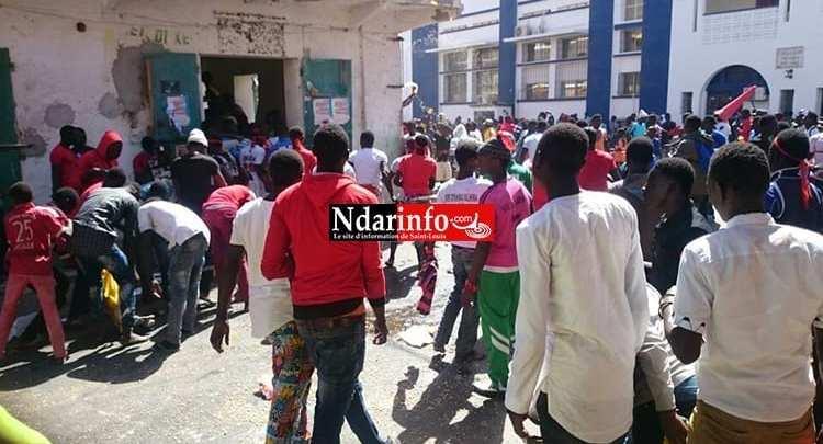 مظاهرات غاضبة في سينلوي (موقع ندار إيفنو)