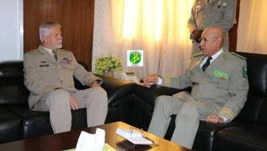"""Photo of موريتانيا.. قائد الأركان يستقبل رئيس اللجنة العسكرية """"لـلناتو"""""""