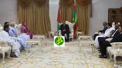 Photo of ولد عبد العزيز يلتقي عددا من رؤساء أحزب الأغلبية