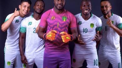 الطقم الثاني للمنتخب-صفحة الاتحادية الموريتانية لكرة القدم على الفيسبوك