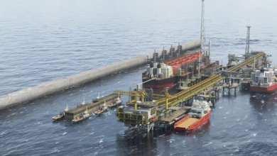 منشئات الغاز قبالة السواحل الموريتانية - السنغالية