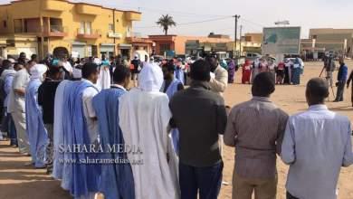 Photo of ازويرات .. نشطاء يتظاهرون دعما لإصلاع قطاع الصحة
