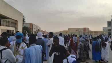 Photo of الشرطة تعتقل طلابا وتفرق مظاهرة أمام جامعة نواكشوط