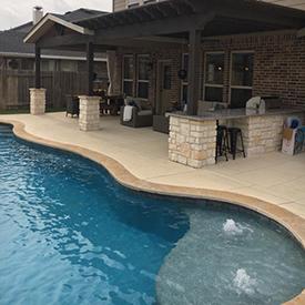 Leflar Pool Firethorne