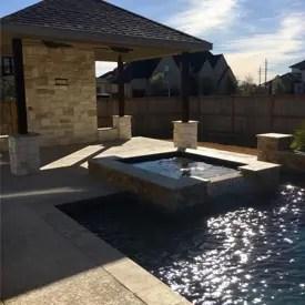 Husser Family Pool & Patio Kitchen Katy, Texas