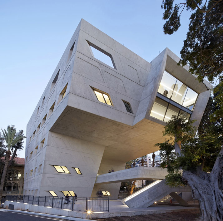 8-zaha-hadid-Issam-Fares-Institute-for-Public-Policy-and-International-Affairs-at-the-American-University-of-Beirut