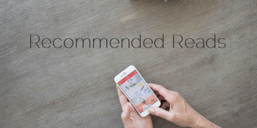 Sahar's Blog 2016 01 29 This Week's Ten Recommended Reads