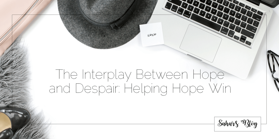 2018-04-03 Tuesday Community Building The Interplay Between Hope and Despair Helping Hope Win