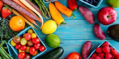 رجيم الخضار والفاكهة