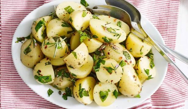 البطاطا المسلوقة