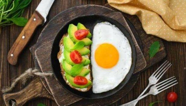 فطور بروتين وألياف