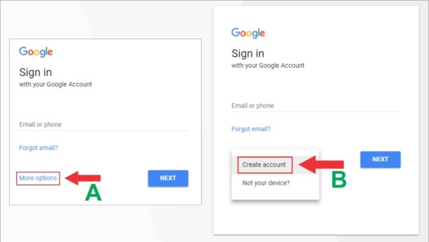 Gmail step by step photo