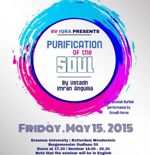 Lezing - Purification of the Soul by Ustadh Imran Anquillia