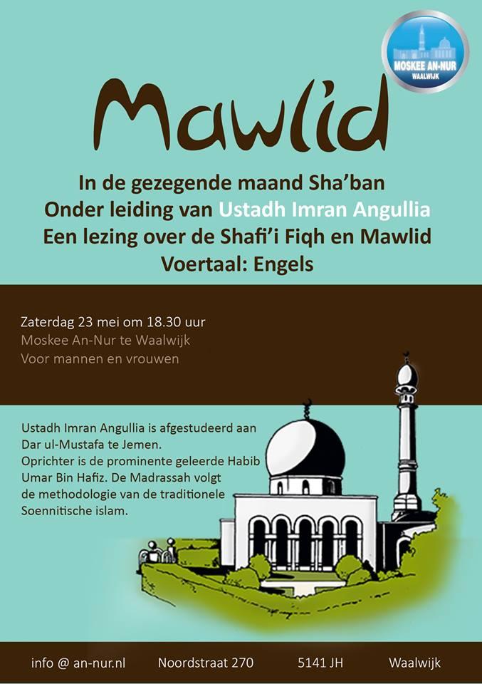 Shafi'i fiqh en Mawlid door Ustadh Imran Angullia