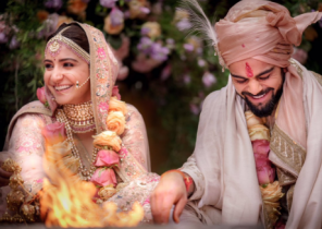 Virat Kohli and Anushla Sharma
