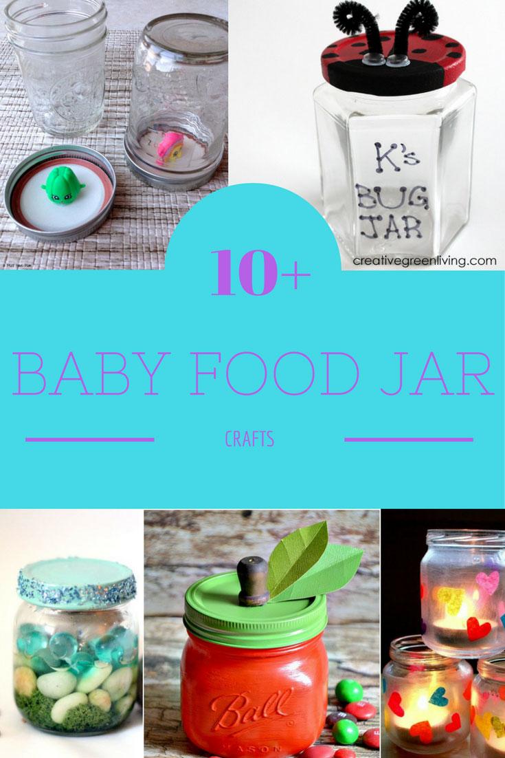Fabulous Baby Food Jar Crafts To Reuse Baby Food Jars