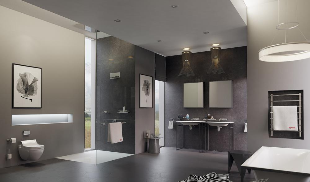 The High Tech Bathroom