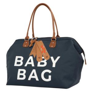 Anne bebek omuz çantası lacivert