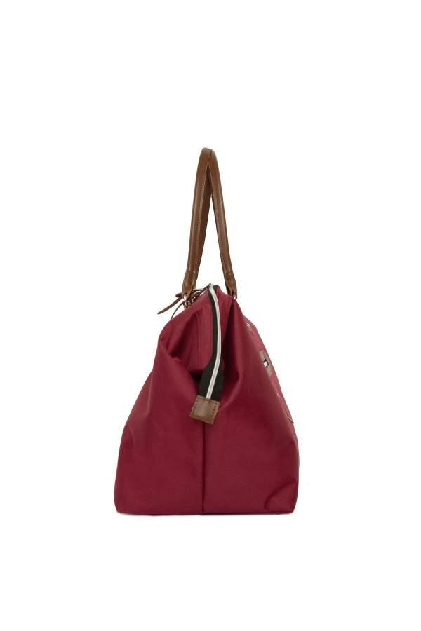 Baby Bag Anne bebek omuz çantası bordo