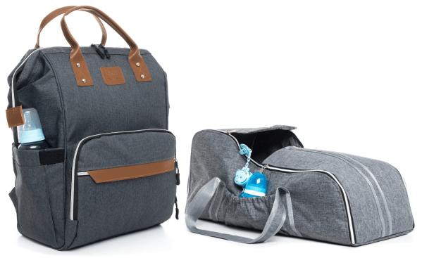 Bebek bakım çantası ve bebek taşıma seti portbebe