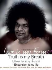 Love is my form sathya sai baba poem