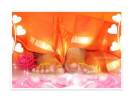 Lotus-feet-swami-bhagawan-avatar-sri-sathya-sai-baba-rose-flower