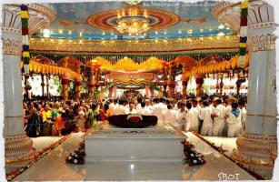 Bhagawan had decided the place/spot of His MahaSamadhi long ago