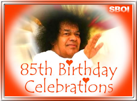 Sai Baba's 85th birthday 23rd November 2010 -