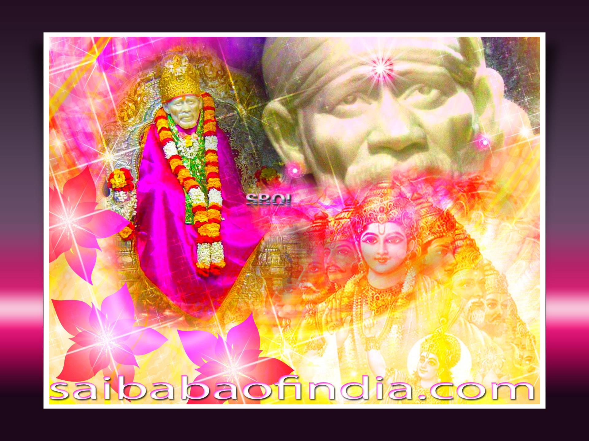 shirdi sai baba exclusive wallpapers - free download- desktop