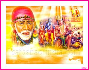Rama Navami wallpaper- Shirdi Sai Baba