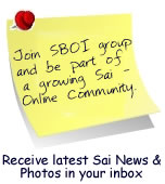 "Join group saibabaofindia - ""SBOI"" Be a part of a growing Sai online community"