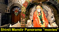 "Shirdi Sai Baba Panorama ""movies"". Now you can enjoy 3600  view of Samadhi mandir, main temple, Chavadi and Dwarkamai"