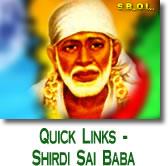Shirdi Sai Baba Quick Links