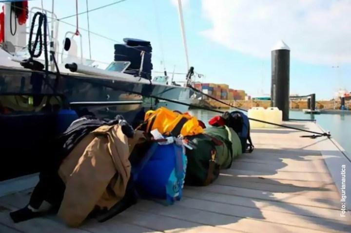 Prepariamo la borsa per la barca a vela