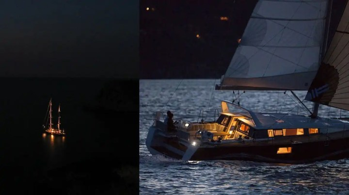 Navigazione notturna, un fascino consapevole