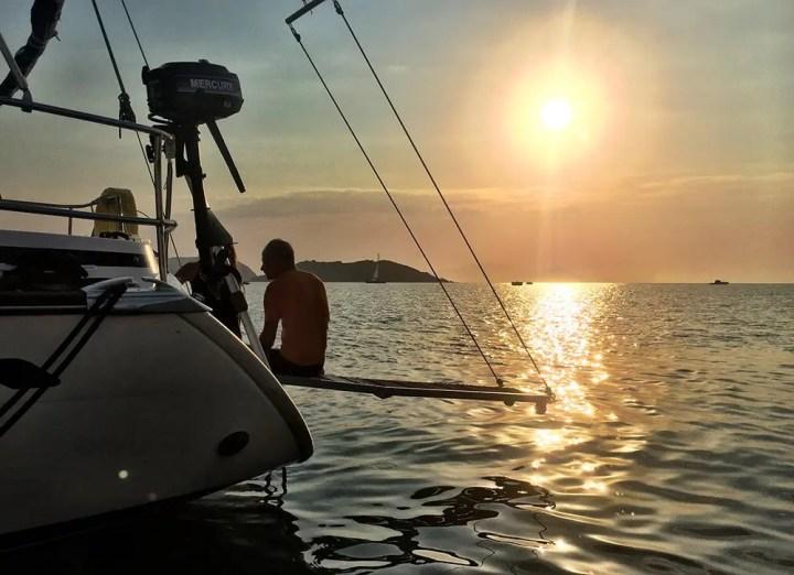 La barca a vela fa bene allo spirito.