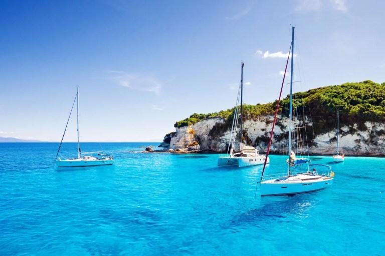 La Croazia in barca a vela, attraversando l'Adriatico.