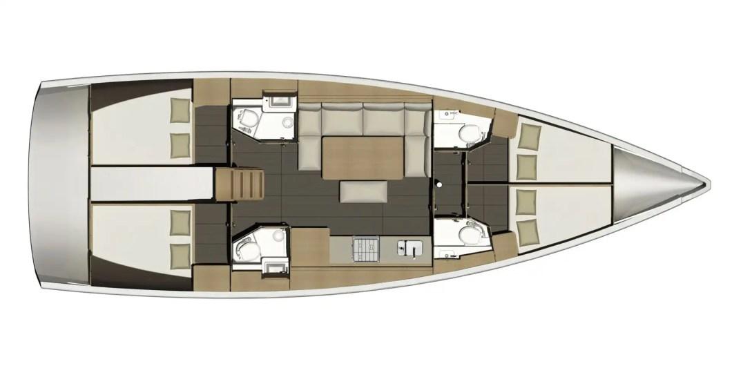 Dormire in barca a vela? Si - può - fare!