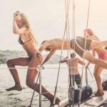 provare la barca a vela. La barca a vela fa bene allo spirito.
