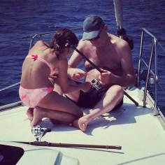 Famiglie in barca: la prima volta non si scorda mai dicono.