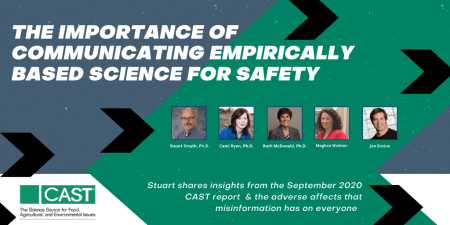 Misinformation and the Importance of Communicating Empirically Based Science for Society