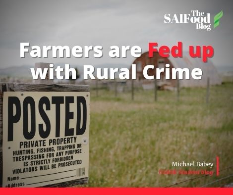 Farmers are Fed up with Rural Crime