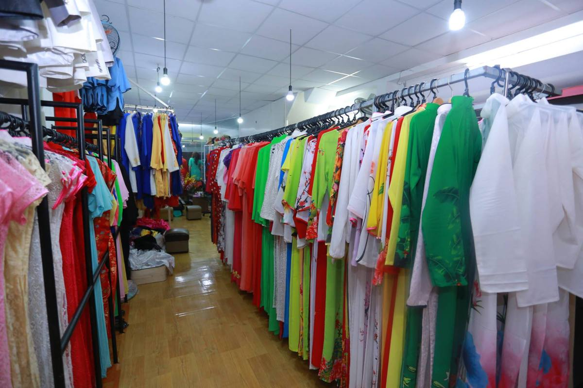 Cửa hàng cho thuê áo dài