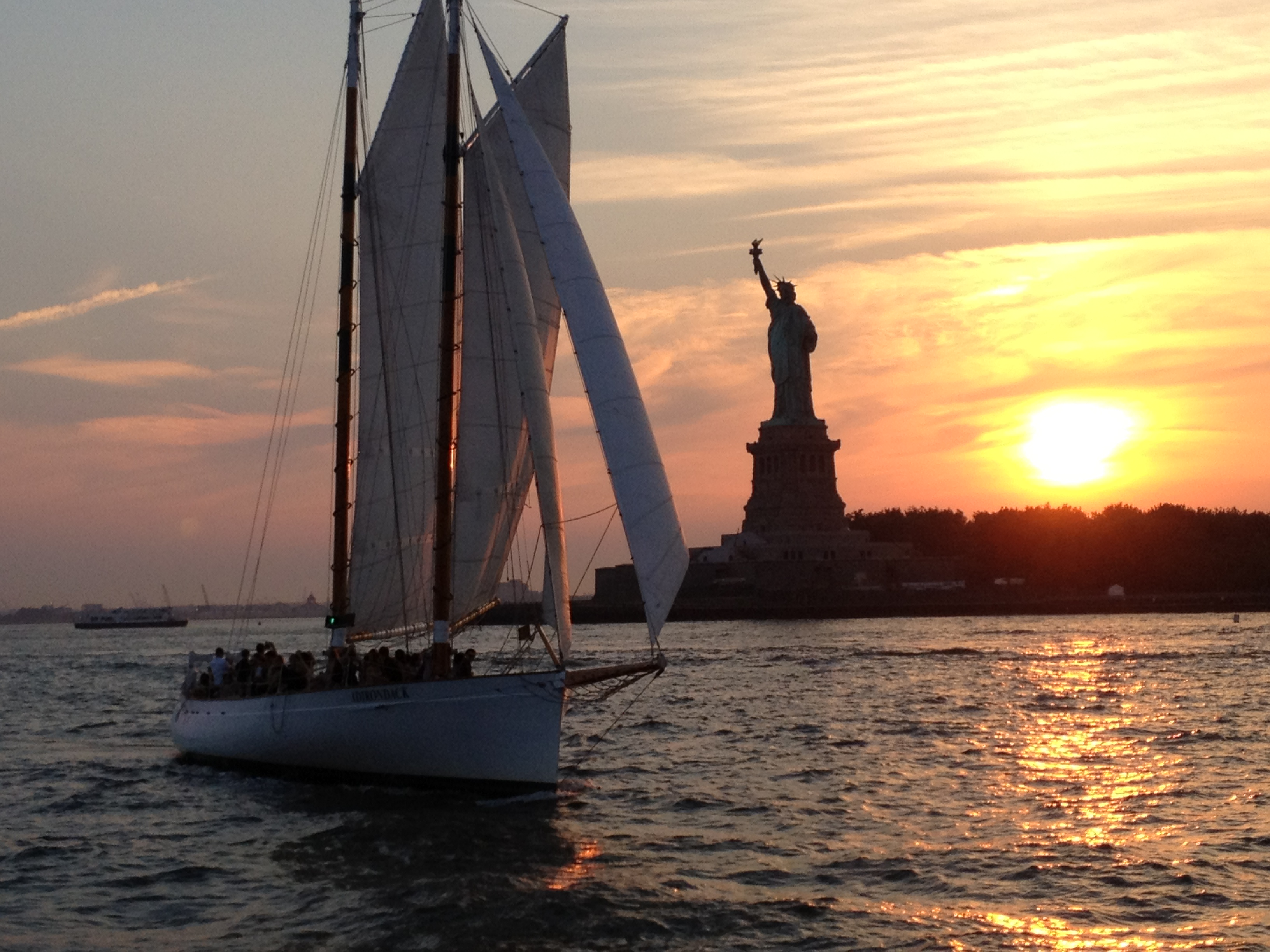 NYC Sailing On Schooner Adirondack Out Of Chelsea Piers