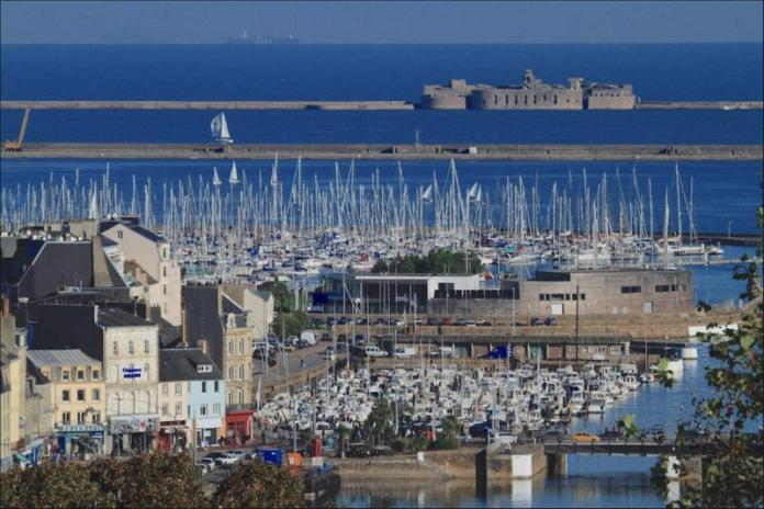 Cherbourg's Port Chantereyne will host the Rolex Fastnet Race fleet - photo © JM enault ville de Cherbourg en Cotentin