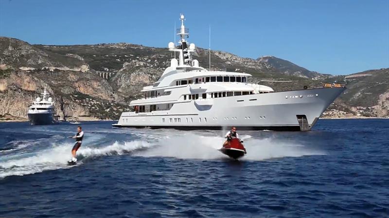 Jim Ratcliffes 255ft Superyacht Hampshire II She