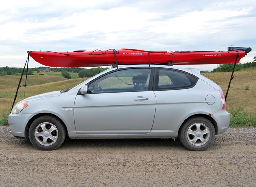voyager avec un kayak se rendre jusqu