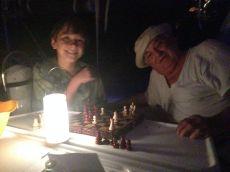 Alex vs Papa - Chess