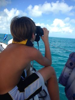 Alex Spying the Mega Yachts
